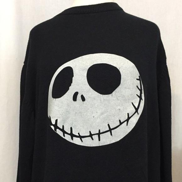 Tim Burton Christmas Jumper.Nightmare Before Christmas Sweater Xl Jack